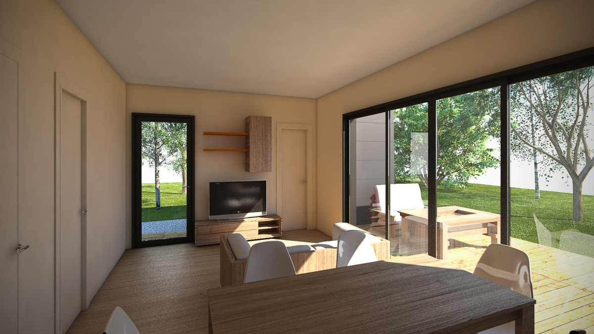 Pur 39 home cabanes co for Habitation legere de loisir